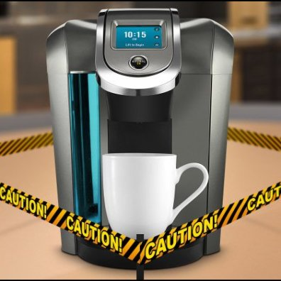 keurig-caution-closeup Image Courtesy of MakeUseOf.com