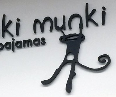 Munki Munki Pajama Branding Logo 3