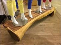Natural Log Plank Runway A