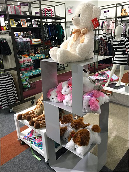 Plush Toy Sheet Metal Tower Display