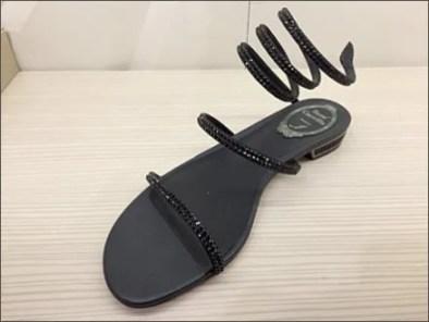 Rene Caovilla Coil Spring Sandals 1