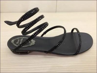 Rene Caovilla Coil Spring Sandals 2