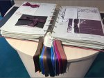 Ribbon Color Swatches Overall Aux