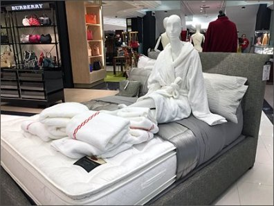 Burberry Sleeping it off In Store 1