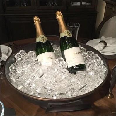 Valentines Champagne Food Prop 2