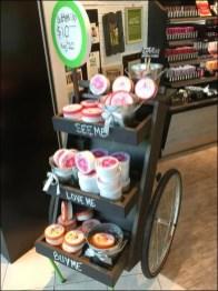 Wheeled Cart Merchandising Concept
