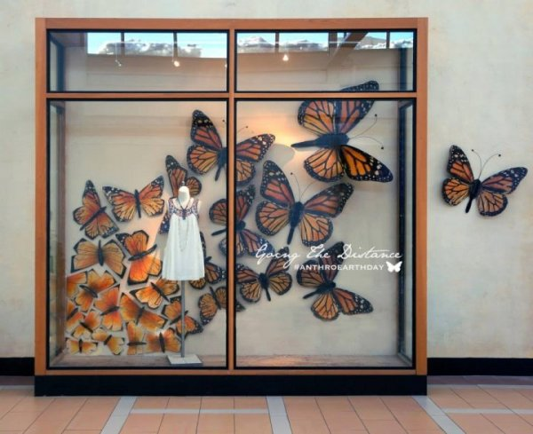 Butterfly Escapes Anthropologie On Earth Day - anthropologies-earth-day-windows-display--2014-1398454256-1