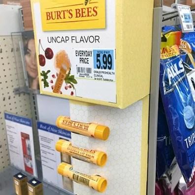 Burt's Bees Linear Corrugated Sidekick