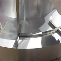 Curved Pedestal, Curved Clothing Rack 3