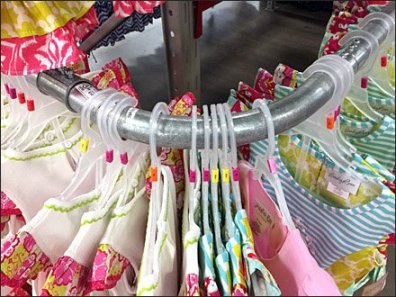 Electrical Conduit Clothing Rack Main