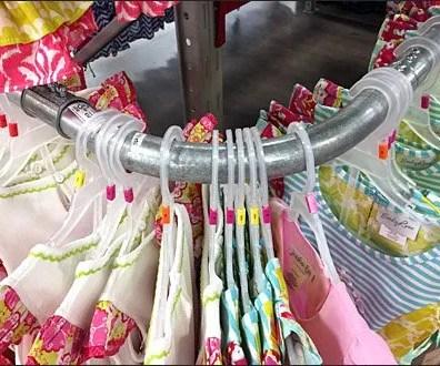 Electrical Conduit Clothing Rack Main