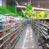 Euro Fixture: Balloon Branding in Green
