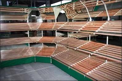 Euro Fixture Wood Slat Gondola 2