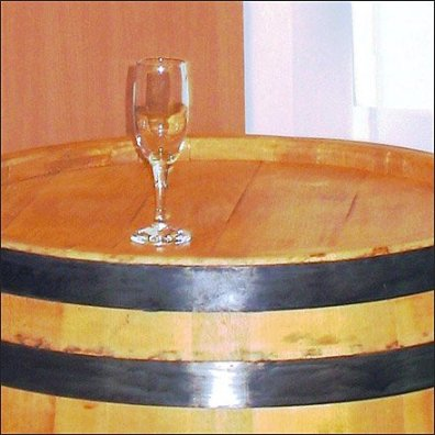 In-Store Wine Tasting Barrel 3