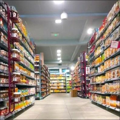 Laddered Hanging Grid Merchandiser 3