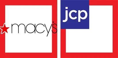 Macys vs JCPenney Logos Courtesy of Wikipedia