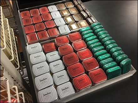 Neiman Marcus Branded Mints Upsell