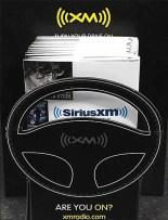 SiriusXM Steering Wheel Die Cut 1