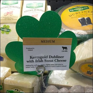 St Patrick's Day Cooler Merchandising 3