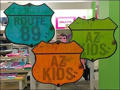 Arizona Jeans Kids Highway Signs