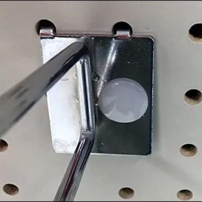 Asymmetric Anti-Sweep Metal Plate Scan Hook 6