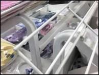 Declined Open Wire Dress Shirt Rack 3