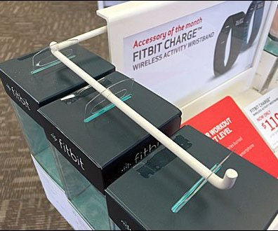 FitBit WristBand Right Angle POP Display 2