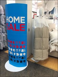 JCPenney Home Sale Mannequin 1