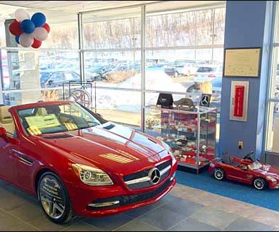 Mercedes Benz Sports Car BOGO Two-fer