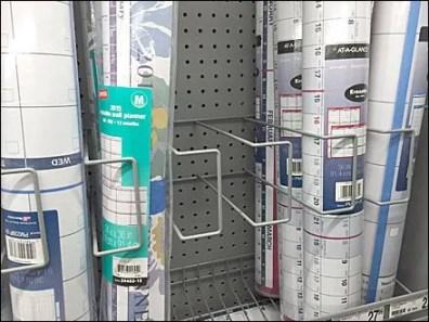 Wall Calendar Pegboard Rack Gallery 2