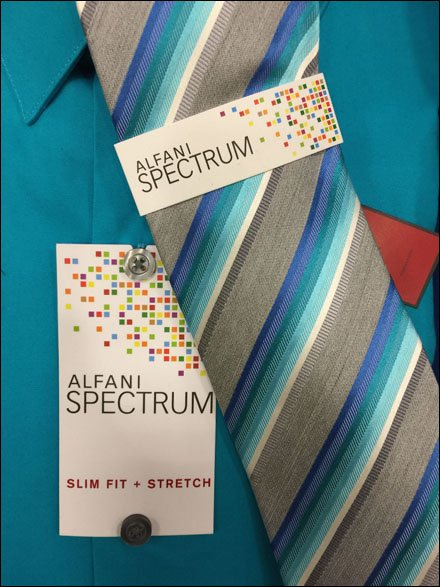 Alfani Spectrum Dress Shirt Multilevel Branding Main