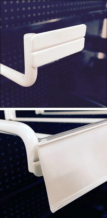 Bar Lable Strip Holder Arm Composite