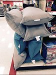 Body Pillow Horizontally Fenced Aux