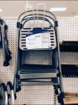 Double Loop Hook Step Ladder Aux