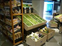European Rectangular Produce Bins