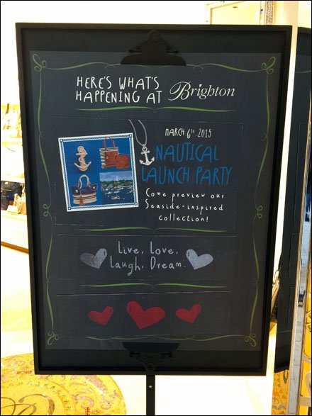 Brighton Here's What's Happening Chalkboard