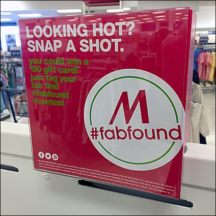 Marshalls Retail Fixtures - Marshall's Hashtag Your Fab Find