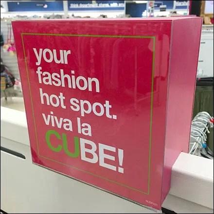 Marshalls Your Fashion Hot Spot Via la CUBE