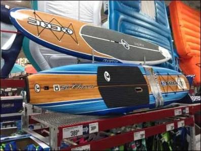 Paddle Board Pallet Rack Horizontal Dispaly 1