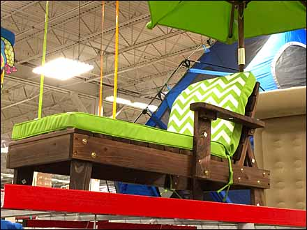 Patio Furniture Merchandising