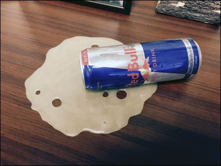 Promotional Redbull Table-Top Spill