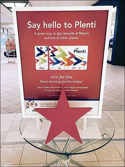 Say Hello to Plenti at Macy's Main