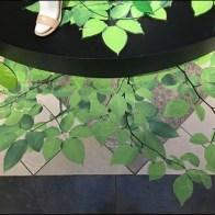 Vinyl Green Vines and Leaves 5