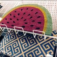 Watermelon Slice Floor Mat Sells The Season