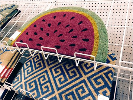 Watermelon Slice Floor Mat Sells The Season