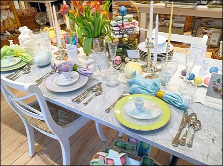 Easter Table Setting 1