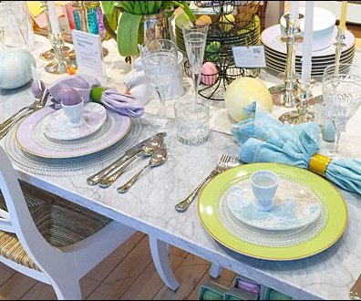 Easter Table Setting 2