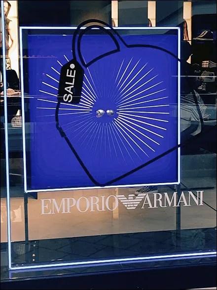 Emporio Armani Sale On Sale Window Main