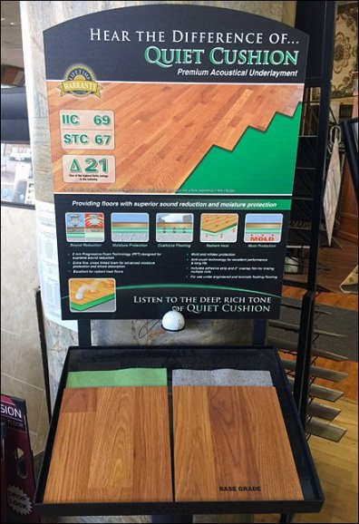 Golf Ball Sounding Board Freestanding 1