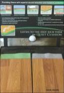 Golf Ball Sounding Board Freestanding 2